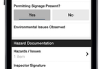 Fulcrumapp.com screenshot: Signatures can be captured electronically through Fulcrum's native mobile apps
