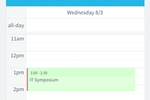 Agile CRM screenshot: Integrate the Agile CRM mobile app with Google Calendar