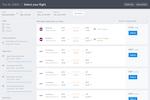 TravelPerk screenshot: Access TravelPerk's travel inventory to search and book flights