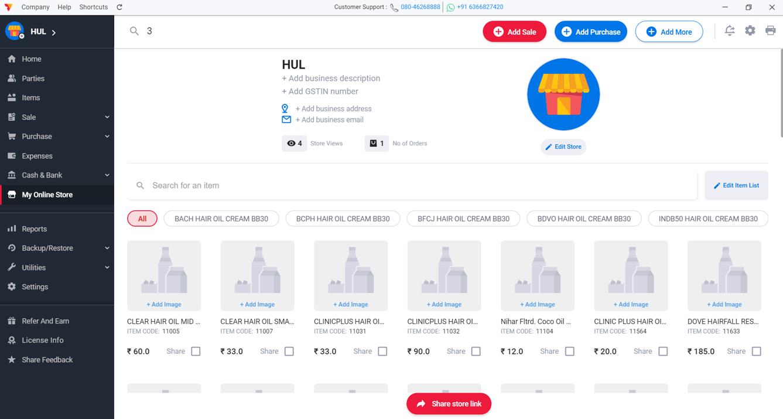 Vyapar Software - Your online store