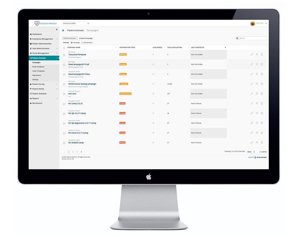 Patient Activate Campaign Desktop