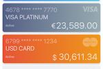 CAVU screenshot: CAVU multiple account management