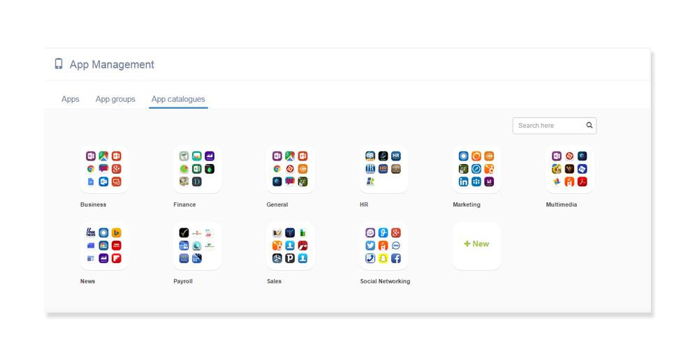 Hexnode app management