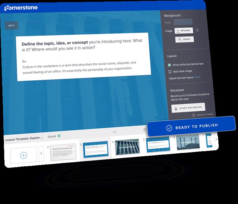 Cornerstone LMS Software - 2