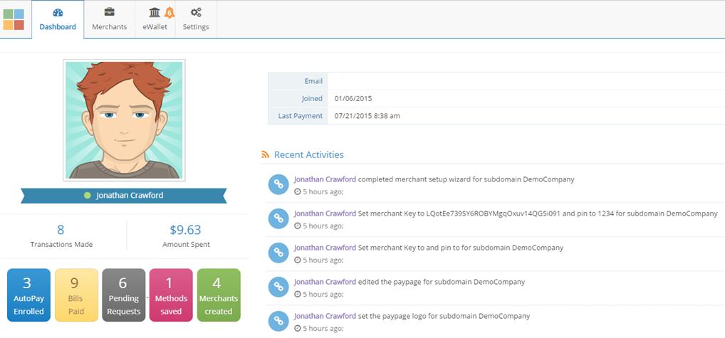 PaidYET screenshot: PaidYET dashboard screenshot