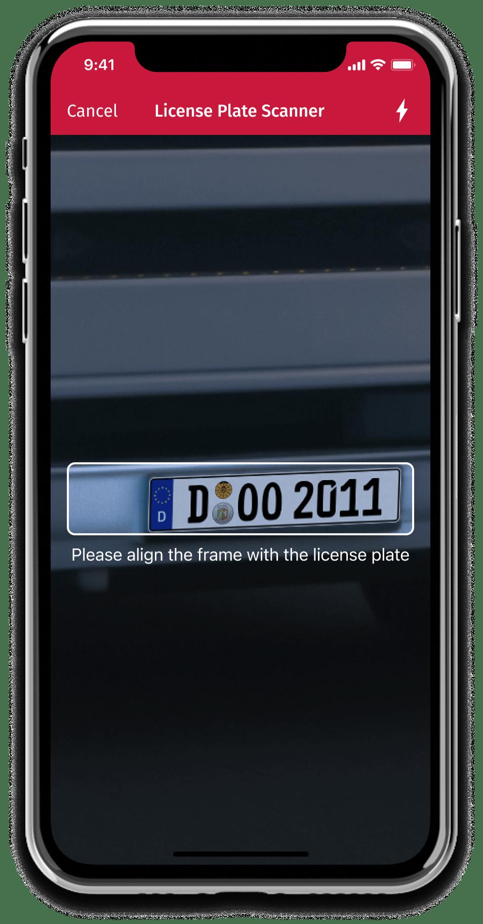 Scanbot SDK Software - Scanbot SDK scan license plates