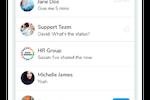 Groupe.io screenshot: Instant Messaging