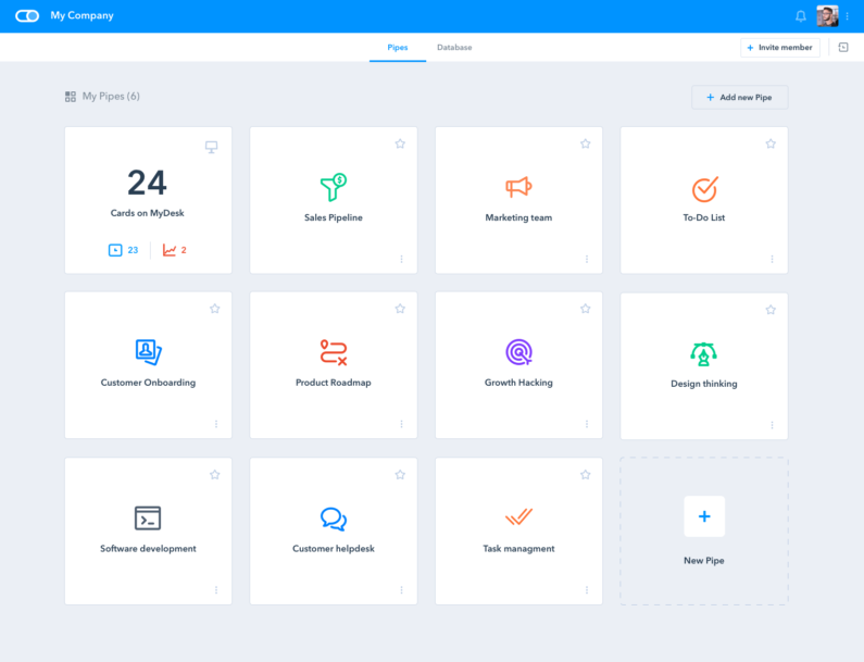 Pipefy Software - Pipefy Process templates