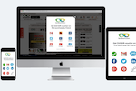 InviteReferrals screenshot: InviteReferrals works across all devices and platforms, including Mobile, tablet and desktop