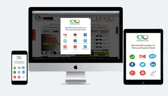 InviteReferrals works across all devices and platforms, including Mobile, tablet and desktop