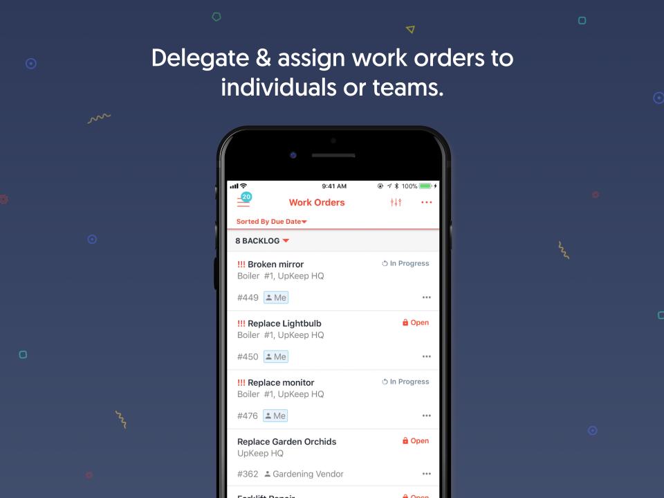 UpKeep Software - Create Work Orders Easily