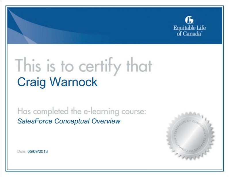 SyberWorks Training Center Software - Customized certificates