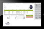 Cumulus Retail screenshot: Retail purchasing platform on the cloud that can register on any tablet device