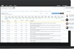 Drakewell screenshot: The customer portal enables communication in real time with clients