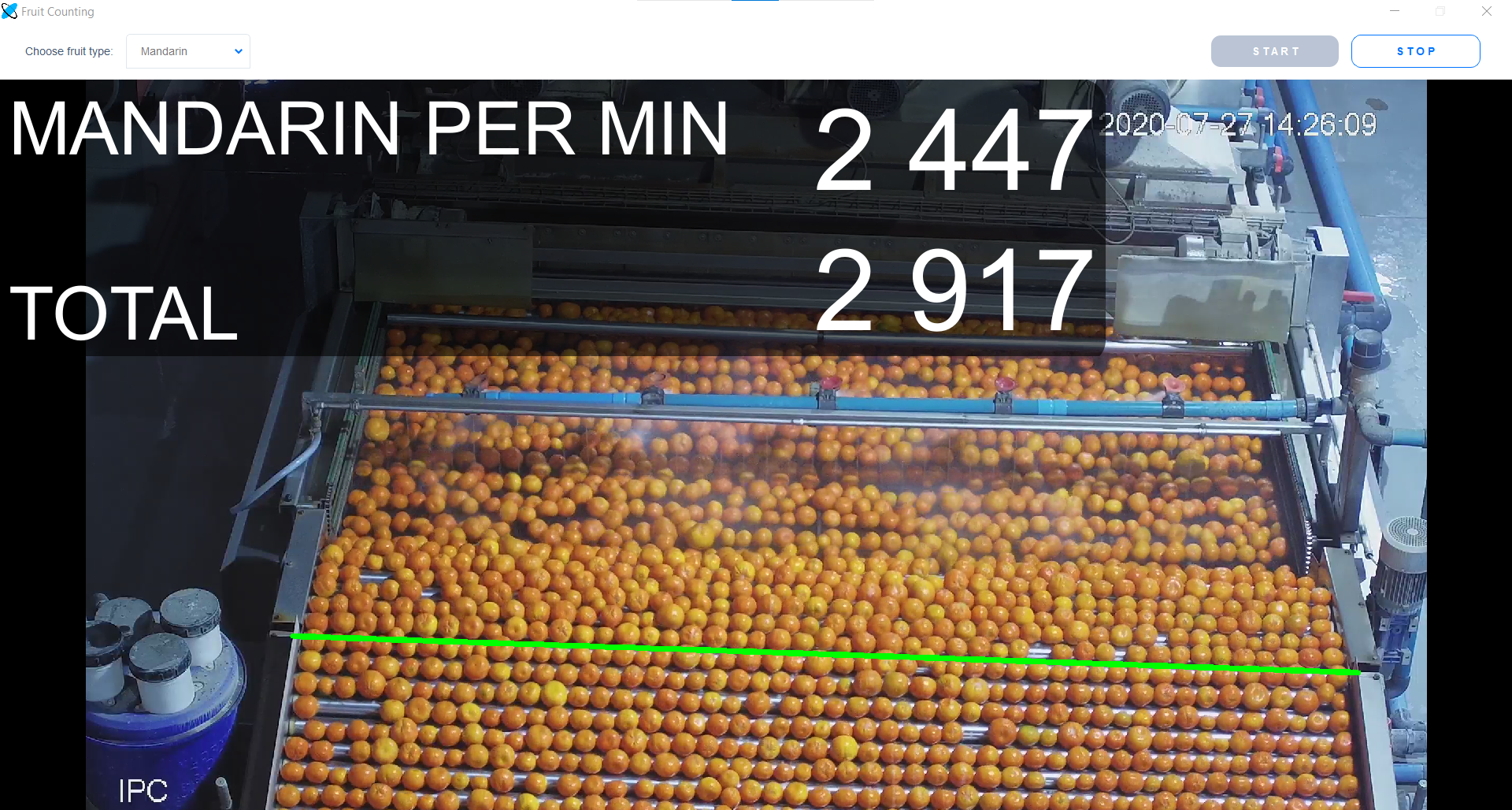 Abto Fruit Counting: Mandarin/Clementine Counting