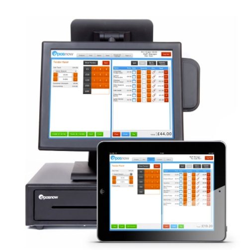 Epos Now Software - Accept credit & debit cards with integrated payments