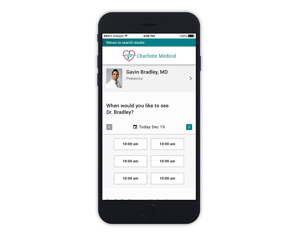 Patient Schedule Mobile