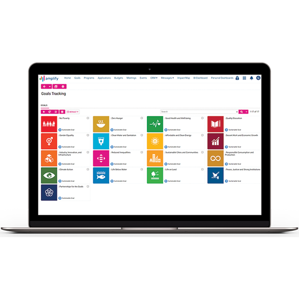 Even track your aggregated contributions to global goal frameworks, such as the United Nations Sustainable Development Goals (SDGs).