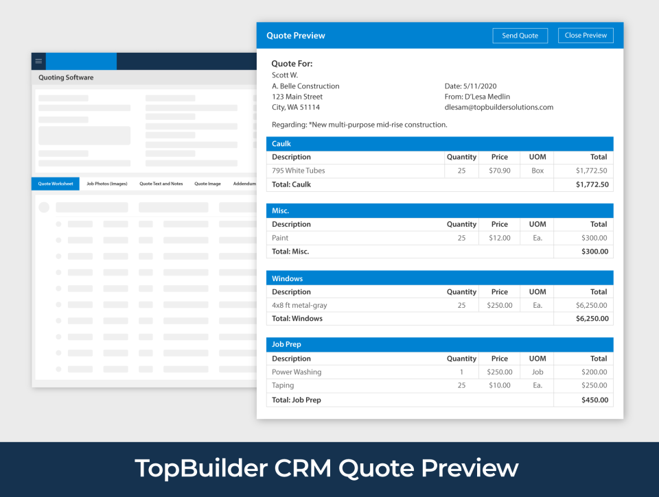 TopBuilder Software - 4