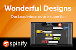 Captura de pantalla de Spinify: Wonderful designs that can be customized, personalized and branded to your company and team!
