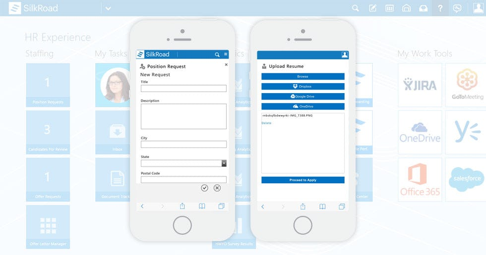 SilkRoad HRMS Software - Mobile App