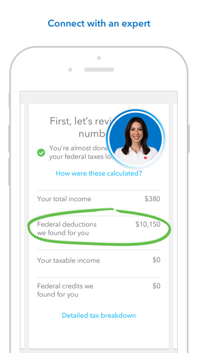 TurboTax helps find every deduction and credit that applies