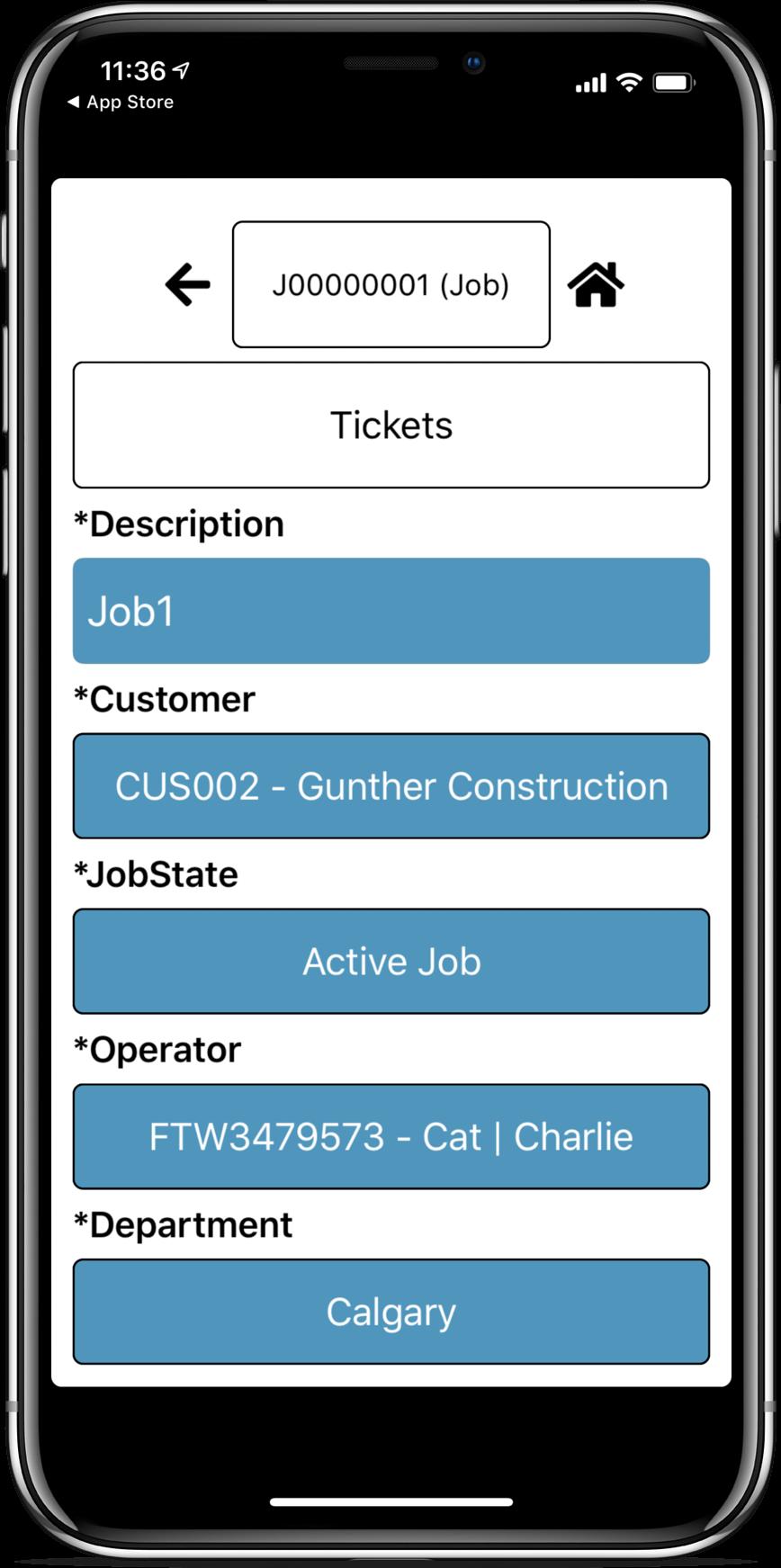 Spira ORP screenshot: Spira FI mobile