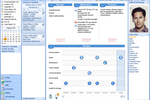 NephroChoice screenshot: The patient timeline screen gives users a historical snapshot of all your patient interactions in one single convenient location