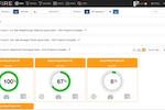 Captura de pantalla de KPI Fire: