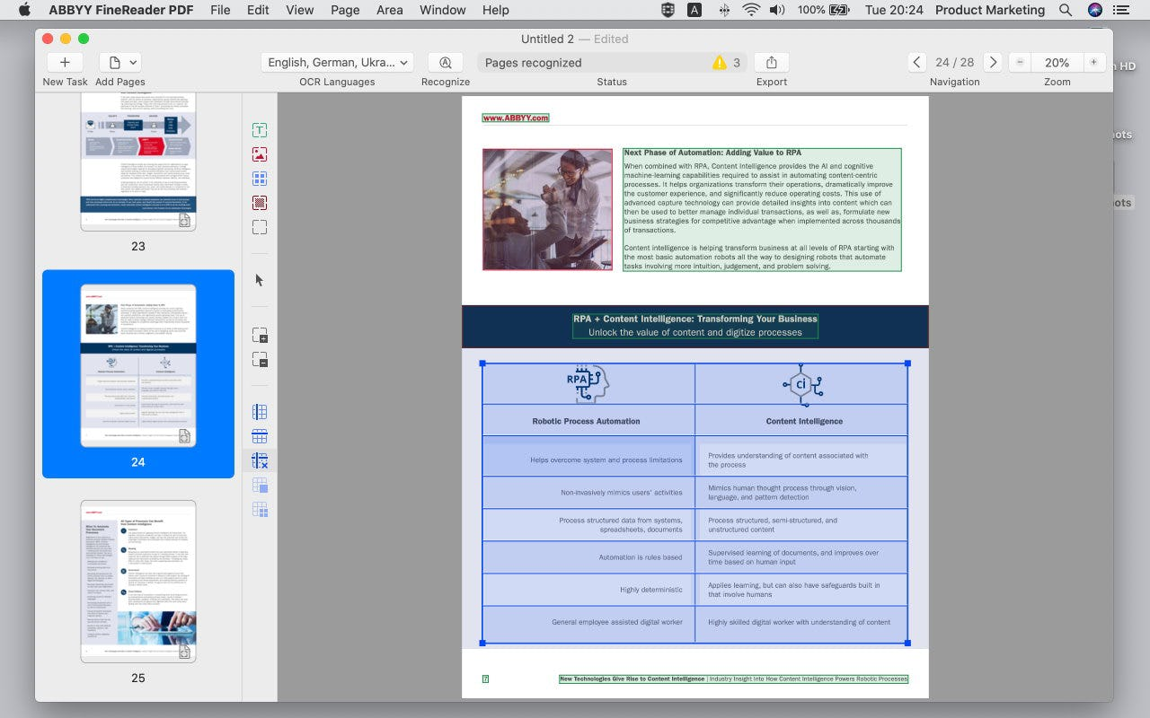 ABBYY FineReader PDF Logiciel - 4
