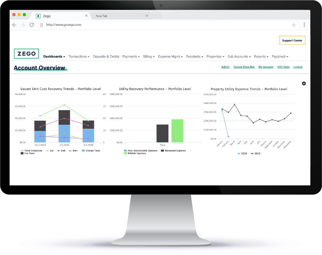 Zego Software - Maximize expense recovery and give your associates the freedom to do more with their day. Zego Utility takes care of all the necessary evils of utility management for you