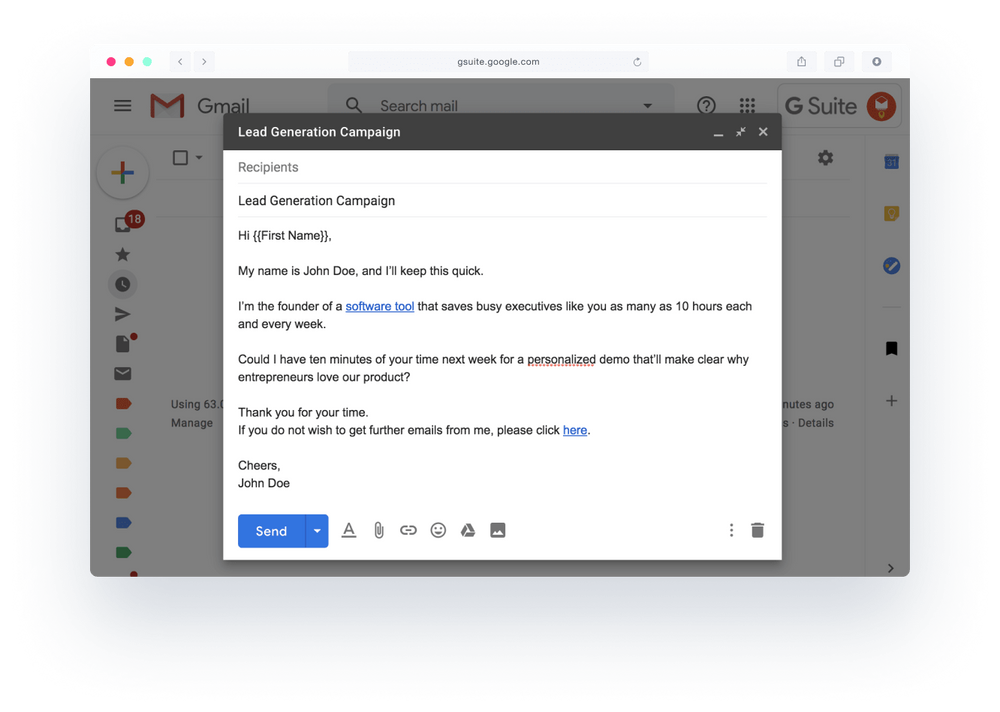 Yet Another Mail Merge templates