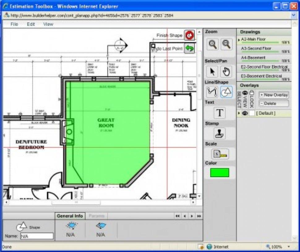 Builder Helper Software - Onscreen Takeoff