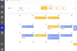 SPOTIO screenshot: SPOTIO calendar