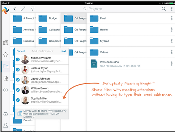 Syncplicity file sharing