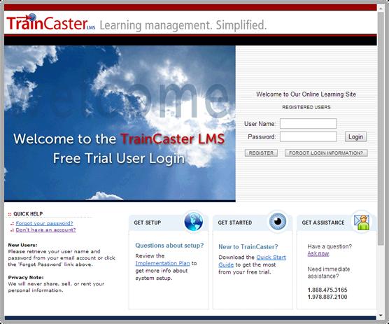 TrainCaster LMS Software - 1