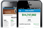 Captura de tela do Pipeline: Keep selling on the go with iOS and Android.