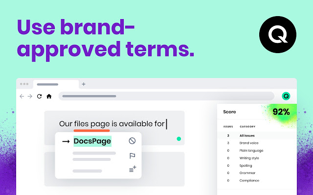 Set up your brand's approved terms and dictionary for consistent usage   Qordoba