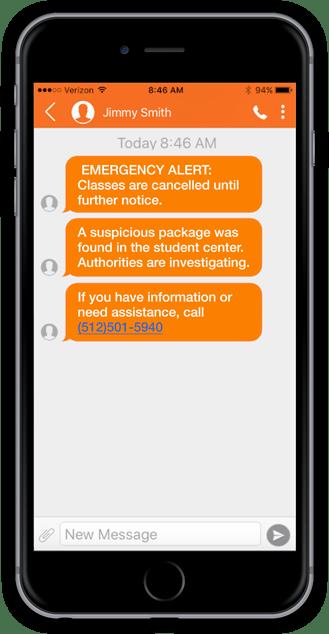 TrueDialog multi-channel emergency alerting system