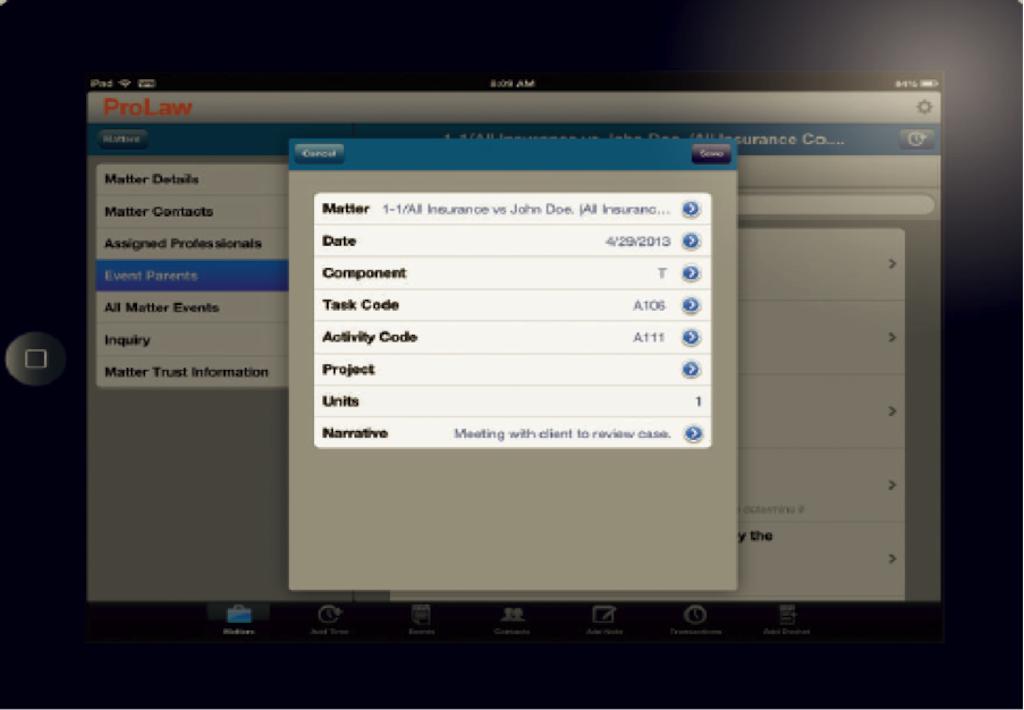 ProLaw Remote access