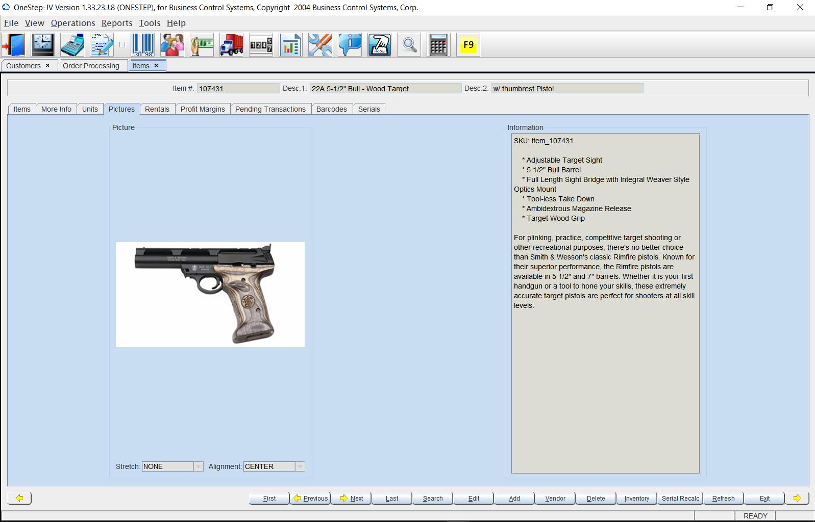 OneStep-JV Software - 2