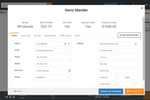 MicroBiz Cloud POS screenshot: Customer data can be sorted, filtered and exported with a few clicks in a format that can be used with popular email marketing applications such as Constant Contact or MailChimp.