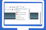 Edtek LMS screenshot: Hosted LMS - Users can add audio, video and other interactive elements to courses