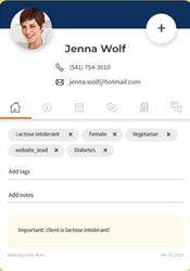 vcita client profile