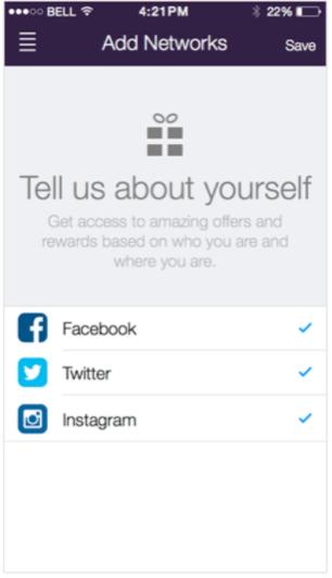 SocialLadder add social media networks