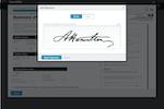 BambooHR screenshot: BambooHR E-Signature
