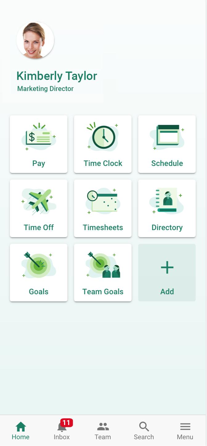 UltiPro Mobile App