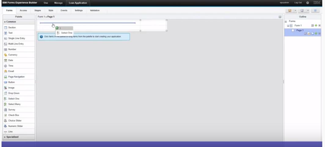 Streebo Chatbot Builder screenshot: Streebo drag-and-drop