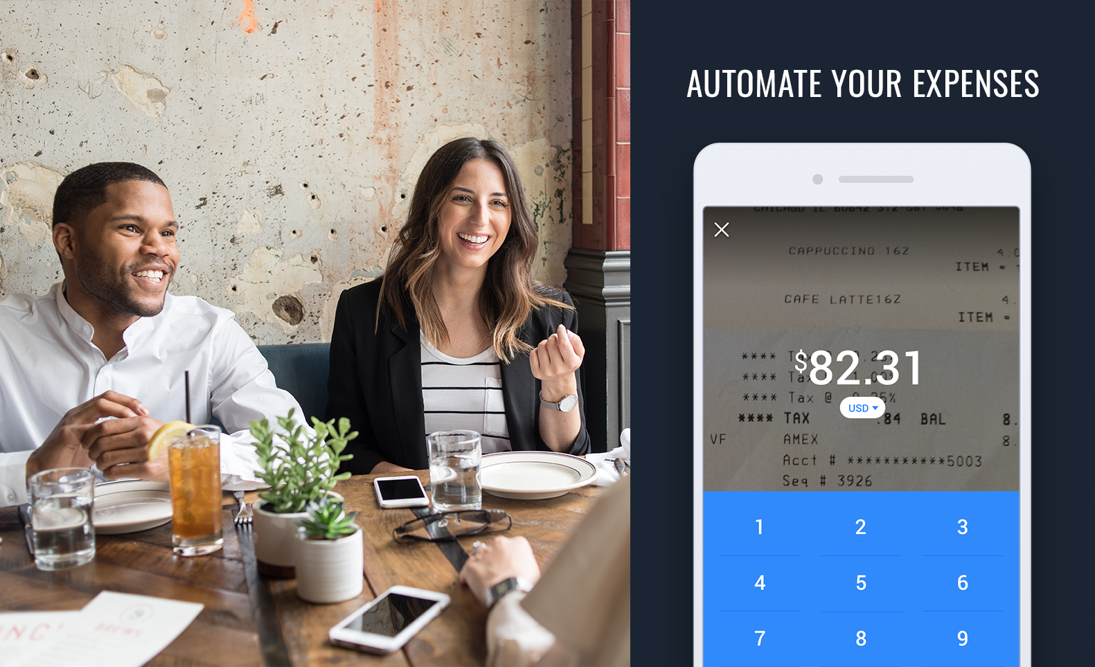 Automate expenses