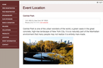 DoJiggy Pledge screenshot: Users can manage event information and contact details